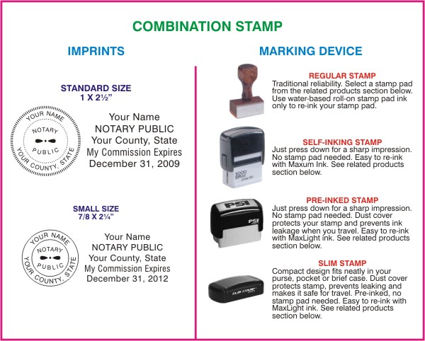 Combination Stamp